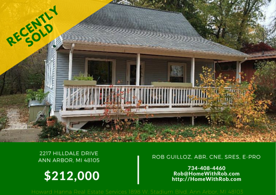 Recently Sold - 2217 Hilldale