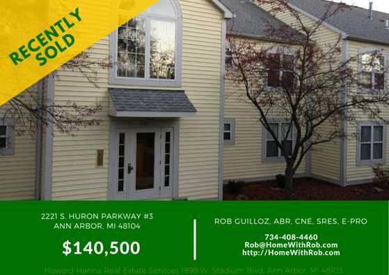 Recently Sold - 2221 S Huron Pkwy