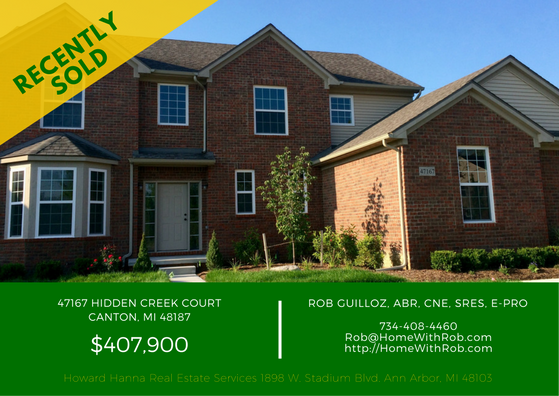 Recently Sold - 47167 Hidden Creek