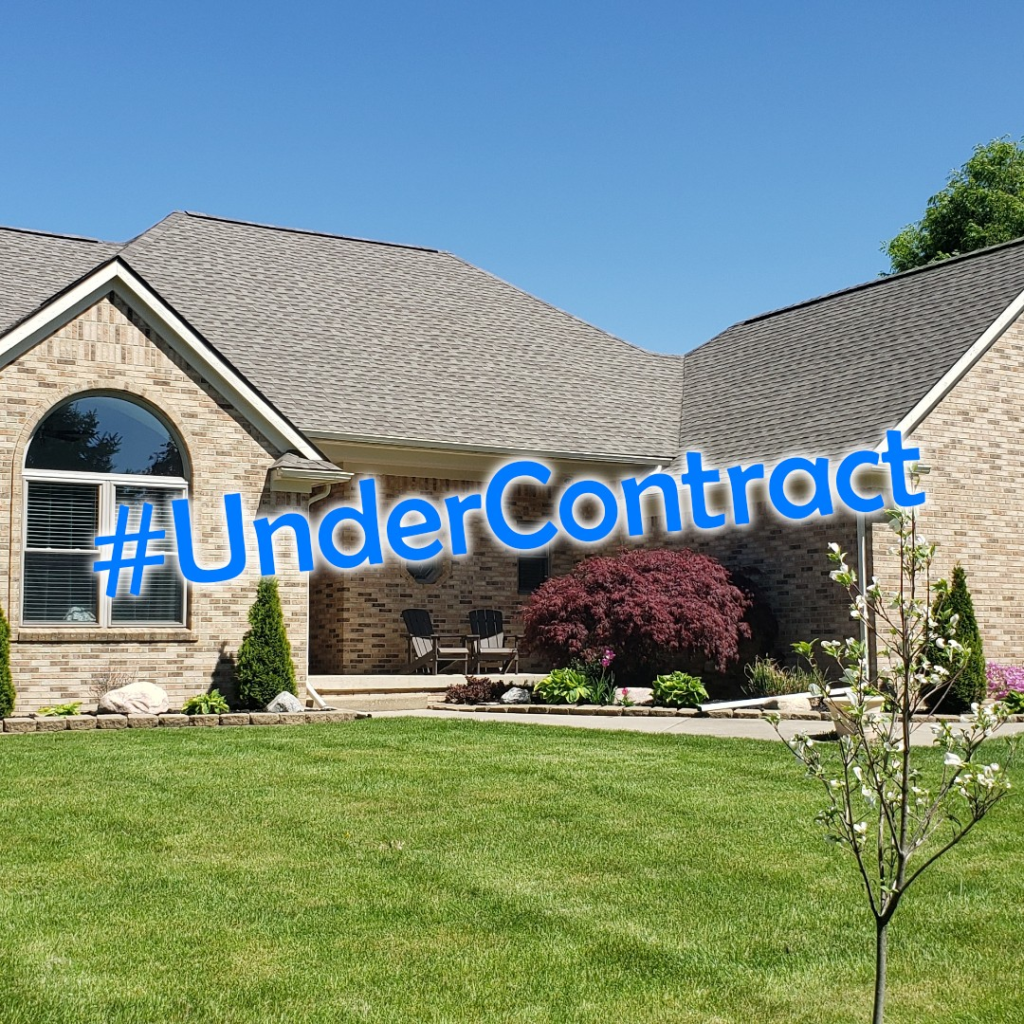 House for sale that went under contract in 1 day.